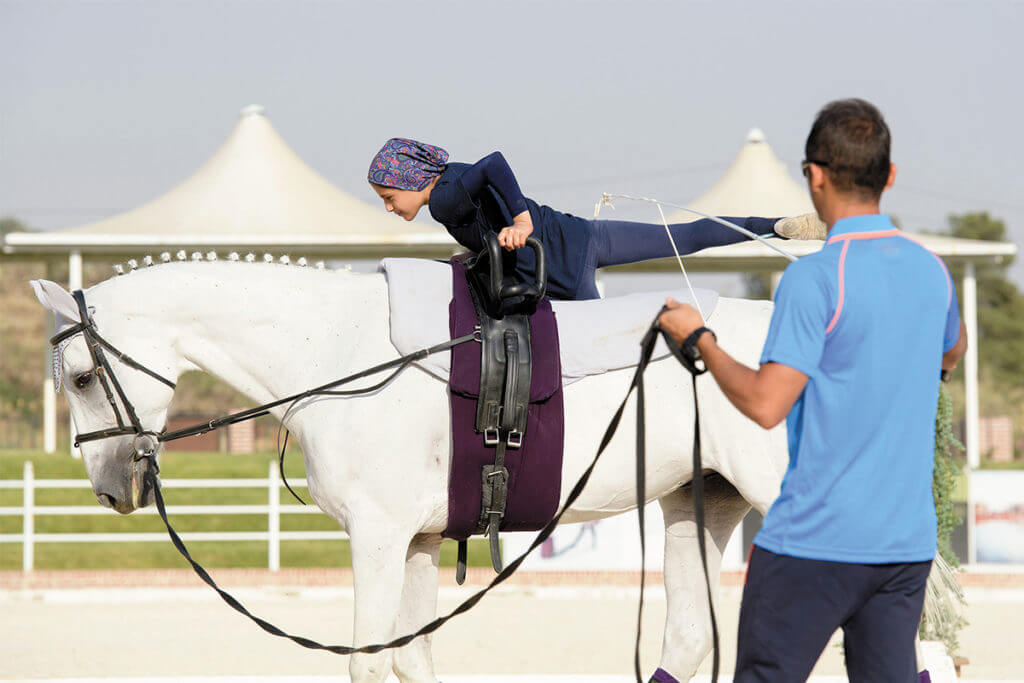 Tercer módulo del primer FEI Equestrian Sport Educative Event (ESEE) para volteo